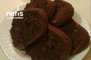 Kakaolu Cevizli Ve Kuş Üzümlü Kek Tarifi