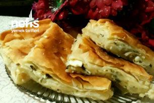 Peynirli Börek (Su Böreği Tadında) Tarifi