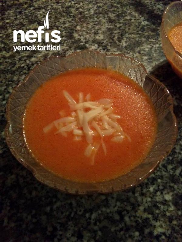 (tadına Doyum Olmayan) Domates Çorbası