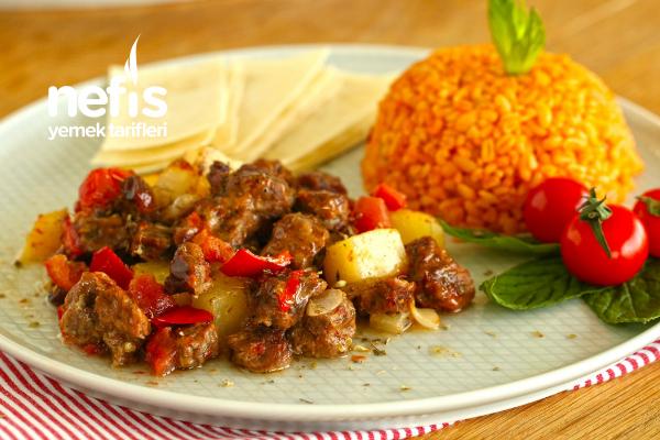 10 Dakikada Fırında :) Sar Pişir Kebabı Tarifi