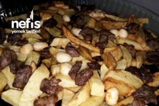 Fırında Etli Patates Patlıcan Kızartması Tarifi
