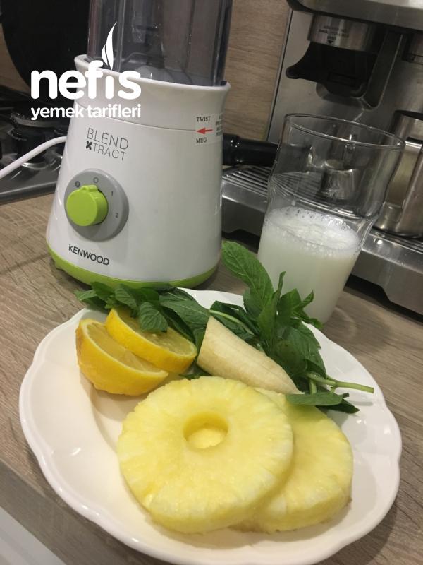 Metabolizma Hızlandıran Ananas Smoothie