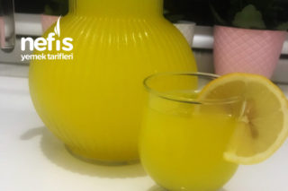 Portakallı Şipşak Limonata Tarifi