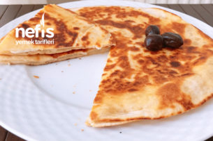 Tavada Peynirli Lavaş Tost Tarifi