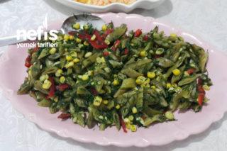 Taze Fasulye Salatası Tarifi
