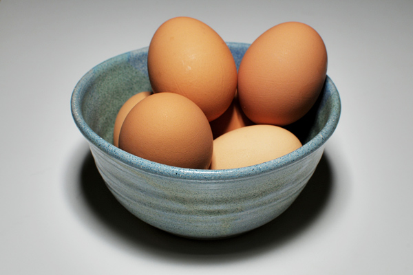 yumurta akı ve karbonat maskesi