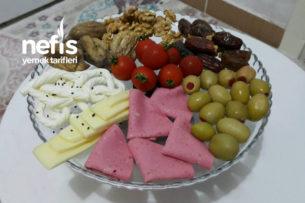 İftariye / Kahvaltı Tabağı Tarifi
