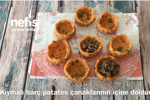 Kıymalı Patates Çanakları (videolu)