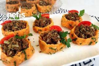 Kıymalı Patates Çanakları (videolu) Tarifi