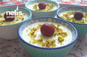 Kremalı Nefis Sütlaç (Tam Kıvamında) Tarifi