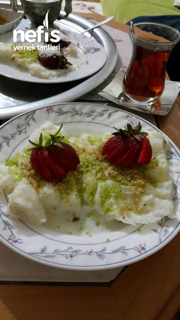 Osmanlı Usulü Güllaç