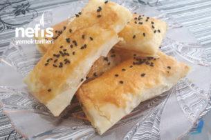 Peynirli Çıtır Rulo Börek Tarifi