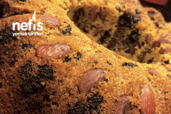 Çikolata Ve Bademli Kek