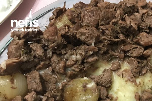 Patates Püreli Kavurma Et Tarifi