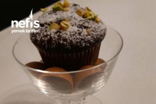 Az Şekerli Bitter Çikolatalı Muffin Tarifi