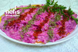 Şeker Pembesi Salatası Tarifi