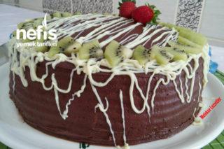 Çikolatalı Meyveli Doğum Günü Pastası Tarifi