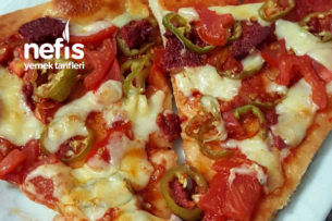 Evde Harika Pizza Tarifi