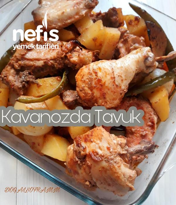Kavanozda Kuyu Kebabı Tadinda Tavuk