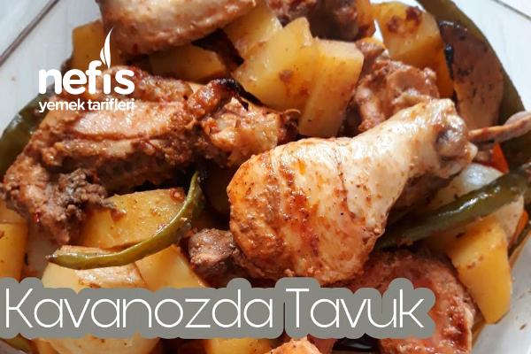 Kavanozda Kuyu Kebabı Tadında Tavuk Tarifi