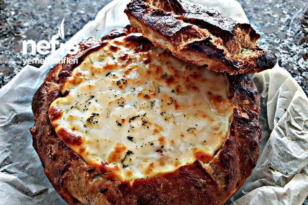 Sarımsaklı Ekmek Dolması Tarifi