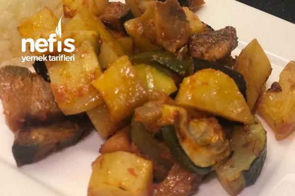 Sebzeli Türlü (Etsiz)