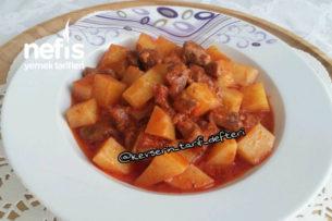 Şipşak Etli Patates Yemeği Tarifi
