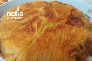 Tava Böreği( Patatesli Ve Peynirli Aynı Tavada) Tarifi