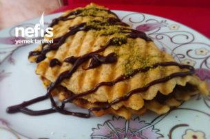 Tost Makinasında Muzlu Waffle Tarifi