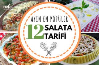 Ayın En Beğenilen 12 Salata Tarifi