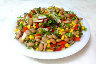 Leziz Barbunya Salatası Tarifi