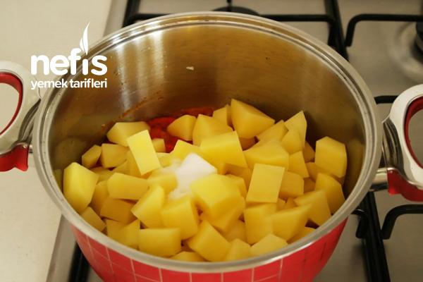 Sulu Patates Yemeği Tarifi