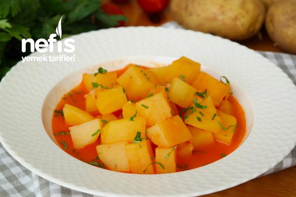 Sulu Patates Yemeği Tarifi (videolu)