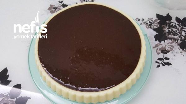 Cikolata Soslu İrmik Tatlısı