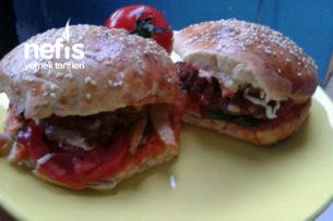 Evde Hamburger Yapımı (Yumuşacık) Tarifi