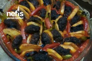 Fırında Köfteli Patates Dizimi Tarifi
