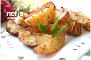 Hazırlara Taş Çıkartacak Soslu Elma Dilim Patates Tarifi