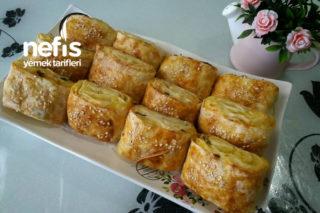 Patatesli Ve Peynirli Dilim Börek (Su Böreği Tadında) Tarifi