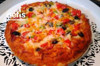 Sahura Özel Pizza Tarifi