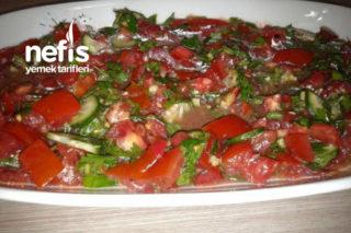 Soğansız Akşam Salatası Tarifi