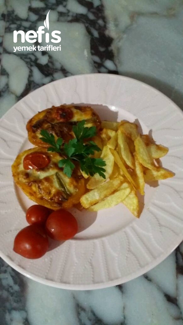 Tavuk Soteli Patates Sandalı
