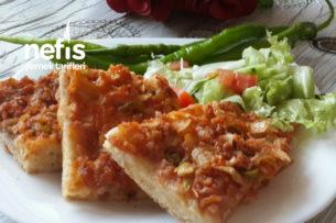 Tepside Lahmacun Böreği (Çok Pratik) Tarifi