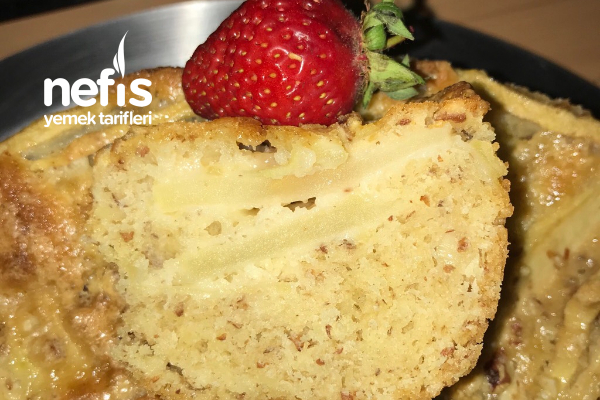 Bademli Elma Pastası Tarifi