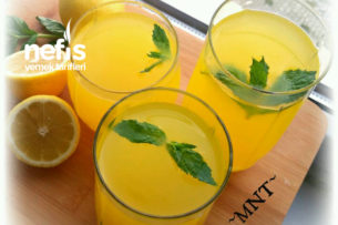 Buz Gibi Limonata Tarifi (Sıfır Acısız)