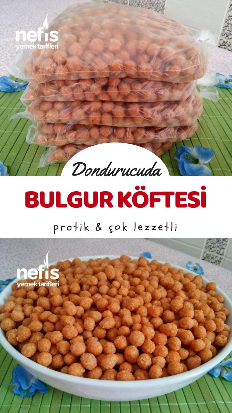 Bulgur Köftesi Videosu