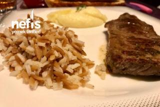 Mühürlenmiş Yumuşacık Biftek (İyi Pişmiş Tüm Püf Noktalarıyla) Tarifi
