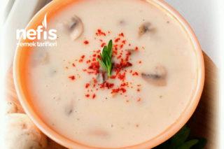 Nefis Kremalı Mantar Çorbası (En Pratiğinden) Tarifi