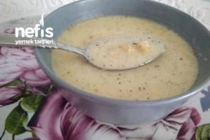Nohutlu Terbiyeli Patlıcan Çorbası Tarifi