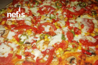 Vejeteryan Pizza Pizza Tarifi