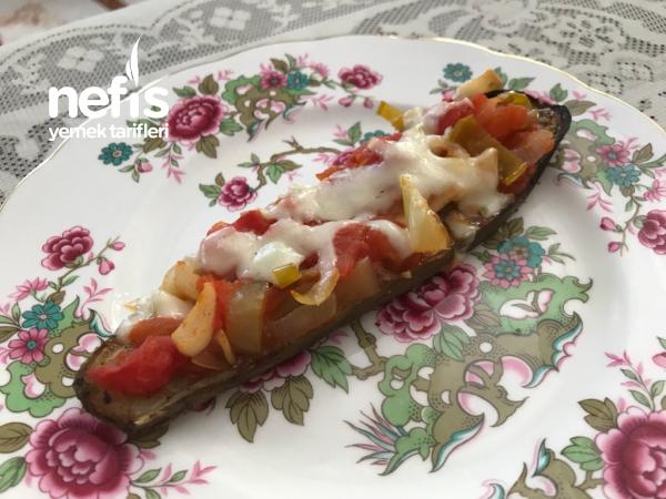 Diyet Patlıcan Yemeği